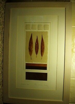 """A """"creative Tones"""" Framed Limited Edition Copper Plate? Picture By """"chris Brook"""""""