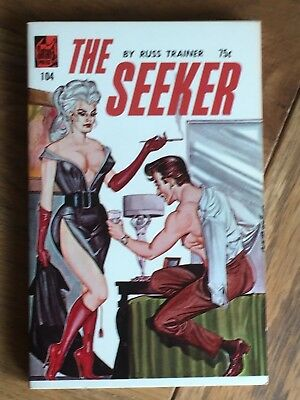 The Seeker - Russ Trainer - 1965 US sleaze paperback Satan Press 104 Super Copy
