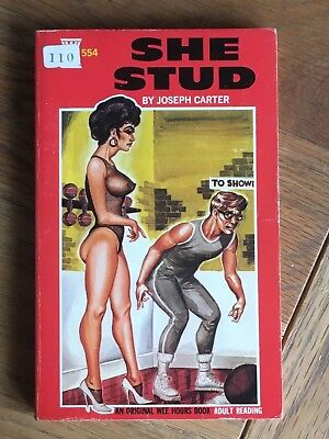The Stud - Joseph Carter - 1967 US sleaze paperback - Wee Hours 554