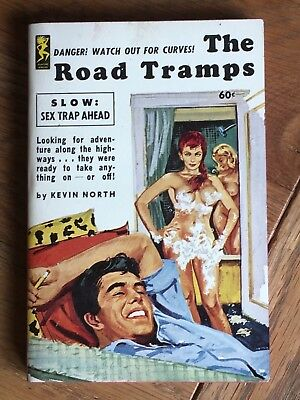 The Road Tramps - Kevin North - 1962 US sleaze paperback - Playtime 613