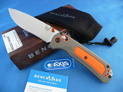 Benchmade Hunt 15061 Grizzly Ridge Axis Knife Overmolded Handle S30V