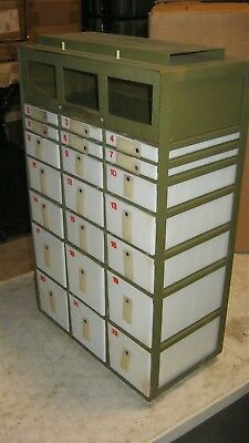 32x20x11 Case 22 Drawer Insert Unit for Aluminum Military Medical Supply Chest