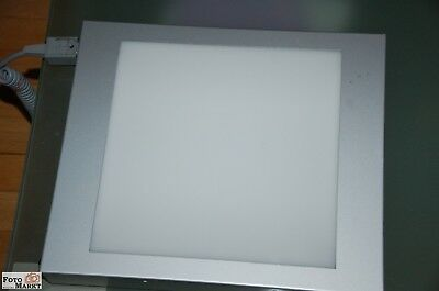White Screen Normlicht Montage-Leuchtpult 24x24cm (Made in Germany)