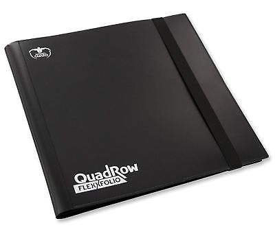 Ultimate Guard - 12-Pocket QuadRow Flexxfolio Black - NUOVO #NSF3