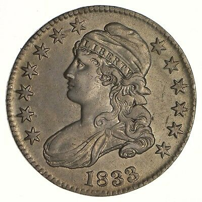 1833 Capped Bust Half Dollar - Circulated *6262