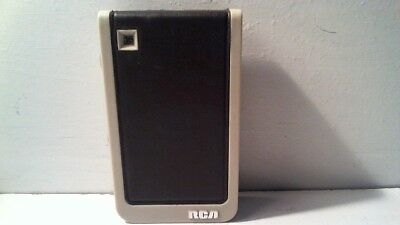 Vtg Rca Transistor Pocket Radio - Earphone Model ( No Speaker ) - Rzg 338J Gray