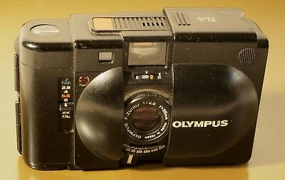 OLYMPUS XA Camera with Rangefinder and 1:2.8 f=35mm Zuiko Lens
