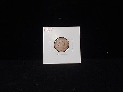 1857 Flying Eagle Cent  - VG/Fine Condition