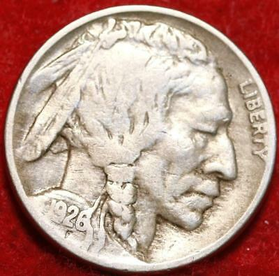 1926-D  Denver Mint Buffalo Nickel