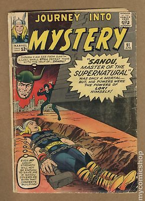 Thor (1st Series Journey Into Mystery) #91 1963 FR/GD 1.5