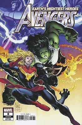 Avengers #8 1/25 Variant Billy Tan Captain Marvel She-Hulk Marvel Legacy