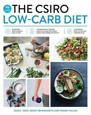 NEW The CSIRO Low-Carb Diet By Grant Brinkworth Paperback Free Shipping