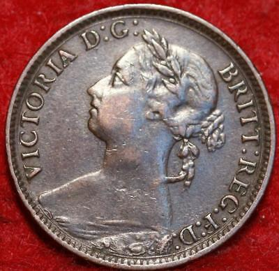 1884 Great Britain Farthing Foreign Coin