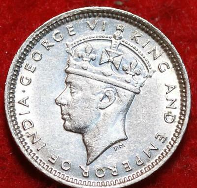 Uncirculated 1938 Hong Kong 5 Cents Foreign Coin