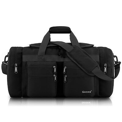 45L Duffle Bag With Strap Travel Sports Gym Work School Carry On Luggage