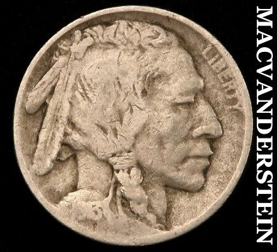 1913 Type 2 Buffalo Nickel- Semi-Key !! Better Date !! #b9508