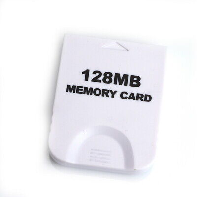 128MB Memory Card for Nintendo Wii Gamecube UK Stock
