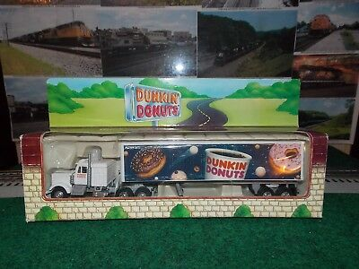 Dunkin Donuts Tractor & Tractor Made In 1995 Brand New Limited Edition