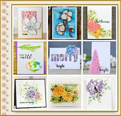 Flower Word Silicone Clear Stamp Transparent DIY Scrapbook Merry Christmas Decor