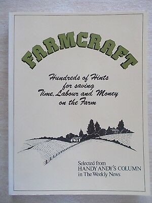 Farmcraft~Hundreds of Hints~Save Time Labour & Money on the Farm~230pp P/B