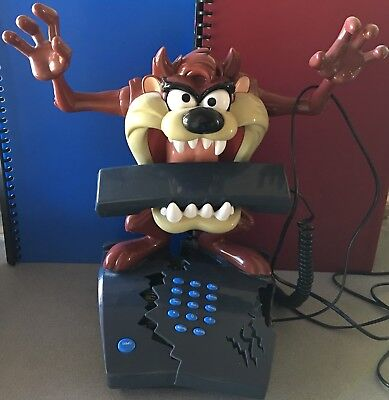 Taz Tasmanian Devil Warner Bros Animated Telephone Collectible