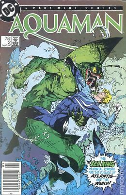 Aquaman (1st Limited Series) #2 1986 VG 4.0 Stock Image Low Grade
