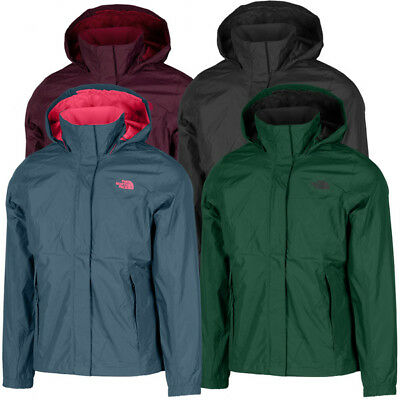 The North Face Woman Resolve 2 Jacke Outdoor Freizeit Regen Windjacke T92VCU