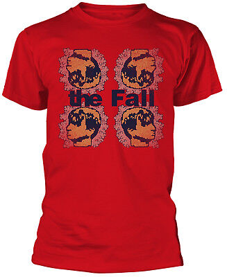 THE FALL Mark Four Red T-SHIRT OFFICIAL MERCHANDISE