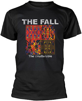 THE FALL The Unutterable T-SHIRT OFFICIAL MERCHANDISE