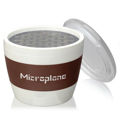 Microplane - Chocolate Cup Grater - Perfect for Grating Small Quantities - Brown