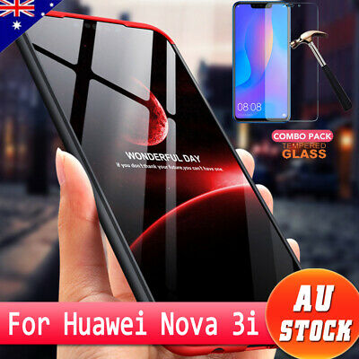 360° Full Tough Cover Shockproof Heavy Duty Bumper Armor Case For Huawei Nova 3i