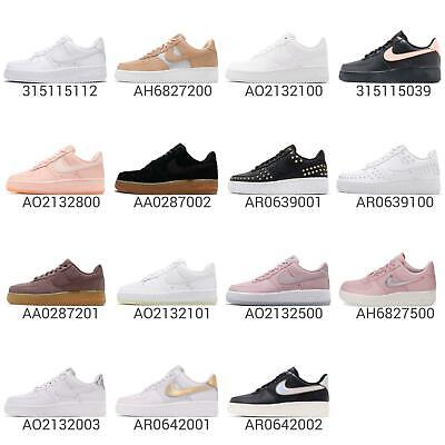 on sale 71acd 3afa7 WMNS NIKE AIR Force 1 07 SE / PRM / QS AF1 Women Shoes Classic Sneakers  Pick 1