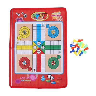 New Traditional Ludo Board Game Family Fun Kids Classic Travel Party Game La