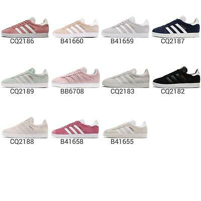 new concept 5d9ce f5f09 adidas Originals Gazelle Classic Womens Casual Shoes Vintage Sneakers Pick 1