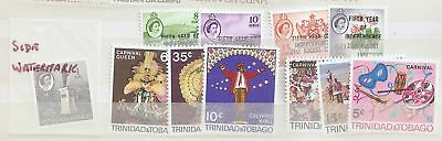 Trinidad and Tobago 1966-67 collection Mint Never Hinged MNH   a1966