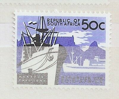 South Africa 1966 50c ship RSA Chalky SG 235 cat £30 Mint Never Hinged MNH a1950