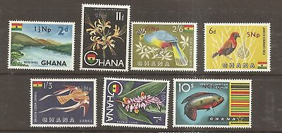 Ghana 1967 New Currency Surcharges values to 1nc Mint Never Hinged MNH   a1888