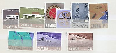 Zambia 1966-67 collection Mint Never Hinged MNH   a1972