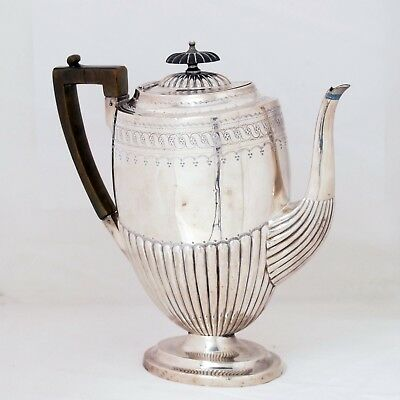 Atkin Brothers Vintage Edwardian Queen Anne Style Silver Plated Teapot #454