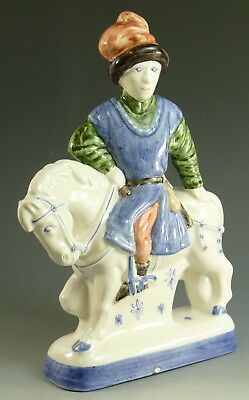 RYE Pottery - Canterbury Tales Flatback Figure - The Dyer
