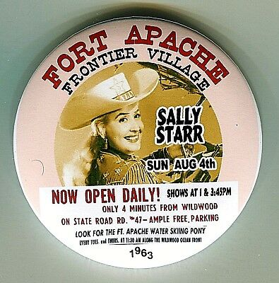 SALLY STAR 1963 Frontier Village FORT APACHE Rio Grande NJ THouse 2018