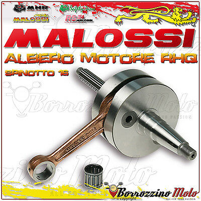New Crankshaft Malossi Rhq Mhr Pin Ø16 538906 Gilera Runner 125-180 2T