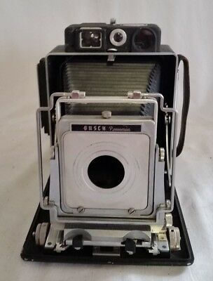 Busch Pressman Model D 4x5 Camera w/Vue-Focus Range Finder