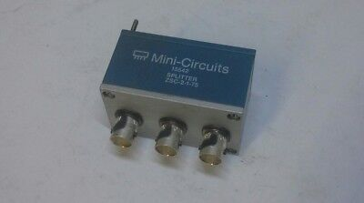 Mini-Circuits ZSC-2-1-75 Splitter BNC Connectors 75 Ohm Used