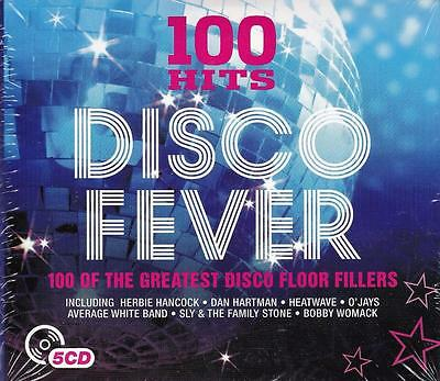 100 Hits: Disco Fever - 100 Of The Greatest Disco Floor Fillers (New Sealed 5Cd)