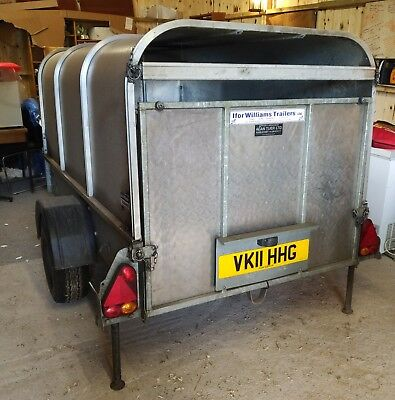 Trailer Ifor Williams P7E Livestock Trailer 750kg