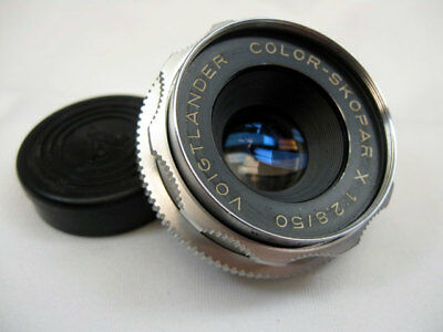 VOIGTLANDER 50mm f2.8 COLOR-SKOPAR X , DKL MOUNT LENS