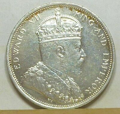 Straits Settlements Dollar 1904-B Brilliant Uncirculated