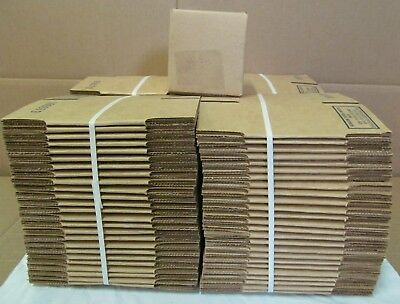 (100) 3x3x3 Corrugated Cardboard Packaging Shipping Mailing Box Boxes 200# Test
