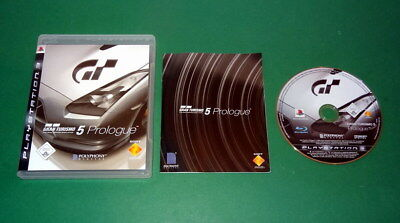 GT Gran Turismo 5 Prologue mit Anleitung und OVP fuer Sony Playstation 3 PS3